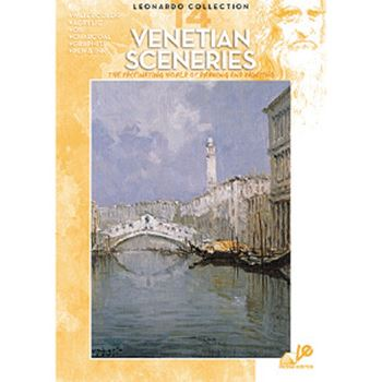 Picture of LEONARDO 014 VENETIAN SCENES ART BOOK