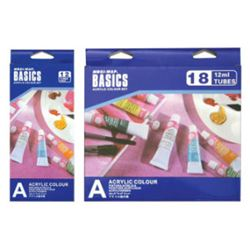 Picture of ACRYLIC BASICS 12ML SET OF 18