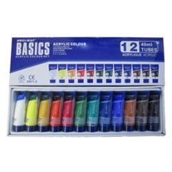 Picture of ACRYLIC BASICS 40ML SET OF 12
