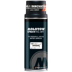 Picture of MOLOTOW ARTIST ACRYLIC BASED SPRAY PAINT SIGNAL BLACK (400ml)
