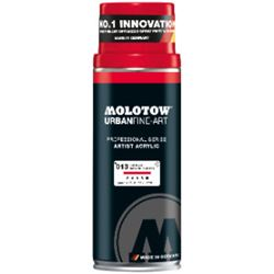 Picture of MOLOTOW ARTIST ACRYLIC BASED SPRAY PAINT TRAFFIC RED (400ml)