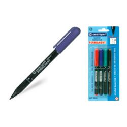Picture of BL PERMANENT  MARKER 4 COLOURS