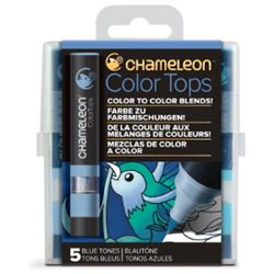 Picture of CHAMELEON 5 COLOUR TOPS - BLUE