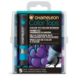 Picture of CHAMELEON 5 COLOUR TOPS - COOL