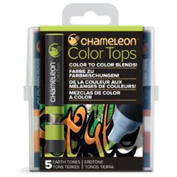 Picture of CHAMELEON 5 COLOUR TOPS - EARTH