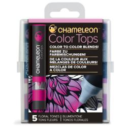 Picture of CHAMELEON 5 COLOUR TOPS - FLORAL