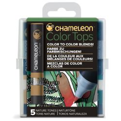 Picture of CHAMELEON 5 COLOUR TOPS - NATURE
