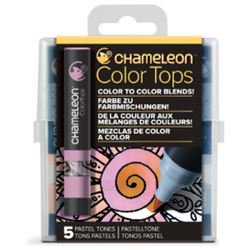 Picture of CHAMELEON 5 COLOUR TOPS - PASTEL
