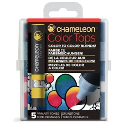 Picture of CHAMELEON 5 COLOUR TOPS - PRIMARY