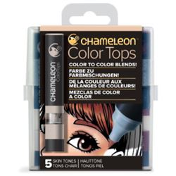 Picture of CHAMELEON 5 COLOUR TOPS - SKIN