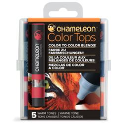 Picture of CHAMELEON 5 COLOUR TOPS - WARM