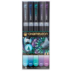 Picture of CHAMELEON 5 PEN SET COOL