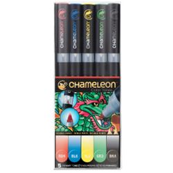 Picture of CHAMELEON 5 PEN SET PRIMARY
