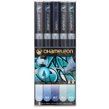 Picture of CHAMELEON 5PEN BLUE TONES