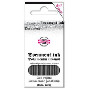 Picture of DOCUMENT INK CARTRIDGES 6PC BLK