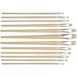 Picture of HOG BRUSHES FLAT (SIZES 1 - 12)