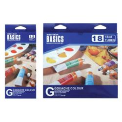 Picture of GOUACHE BASICS 12ML  SET OF 18