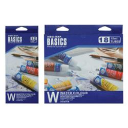Picture of WATER COLOUR BASICS 12ML SET18