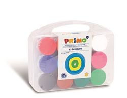 Picture of Primo Poster Paints in pots and case.
