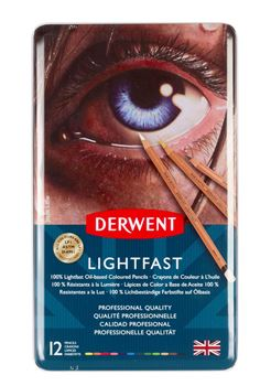 Picture of Derwent Lightfast Tin 12