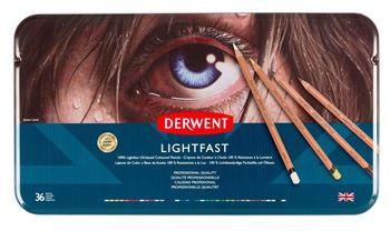 Picture of DERWENT LIGHTFAST PENCIL TIN 36