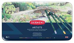 Picture of DERWENT ARTISTS ASSORT TIN 36