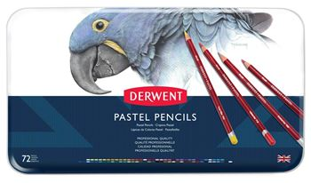 Picture of DERWENT PASTEL ASSORT TIN 72