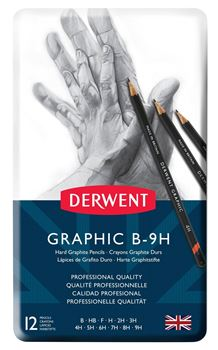 Picture of DERWENT GRAPHIC HARD TIN 12