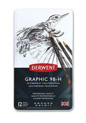 Picture of DERWENT GRAPHIC SOFT12/9B-H PENCILS