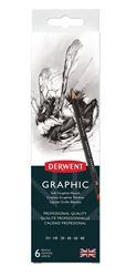 Picture of DERWENT GRAPHIC PENCIL TIN 6