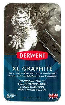Picture of DERWENT XL GRAPHITE TIN 6