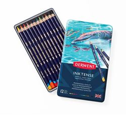 Picture of DERWENT INKTENSE TIN 12