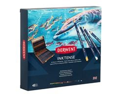 Picture of DERWENT INKTENSE WOODEN BOX 48