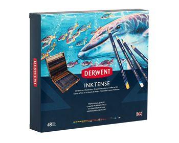 Picture of DERWENT INKTENSE PENCILS WOODEN BOX 48