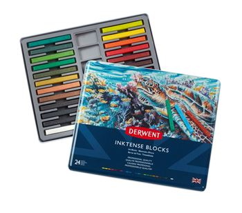 Picture of DERWENT INKTENSE BLOCK TIN 24