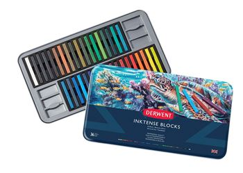 Picture of DERWENT INKTENSE BLOCK TIN 36