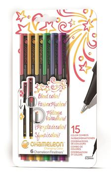 Picture of Chameleon Fineliner Primary Colour Set of 6