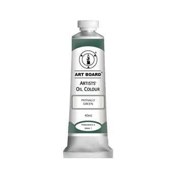 Picture of ART BOARD PHTHALO GREEN 40ML OIL PAINT TUBE