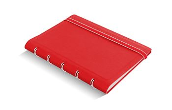 Picture of Notebook Pocket Classic Ruled Red