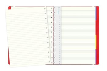 Picture of Notebook A4 Classic Ruled Red