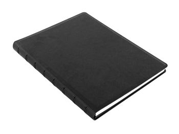 Picture of NOTEBOOK A5 SAFFIANO RULED BLACK