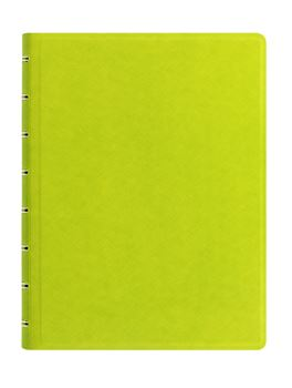 Picture of NOTEBOOK A5 SAFFIANO RULED PEAR