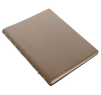 Picture of NOTEBOOK A5 SAFFIANO FAWN