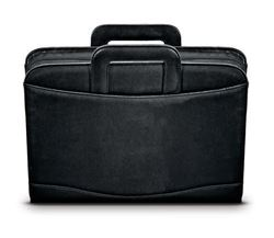 Picture of FOLIO A4 METROPOL ZIPPED WITH HANDLES - BLACK