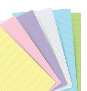 Picture of NOTEBOOK REFILL POCKET PASTEL