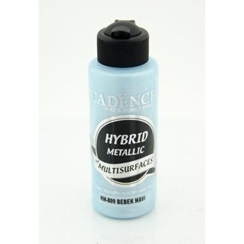 Picture of CADENCE HYBRID ACRYLIC METALLIC PAINT 70ML BABY BLUE