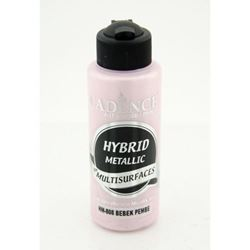 Picture of CADENCE HYBRID ACRYLIC METALLIC PAINT 70ML BABY PINK