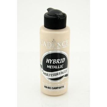 Picture of CADENCE HYBRID ACRYLIC METALLIC PAINT 70ML CHAMPAGNE