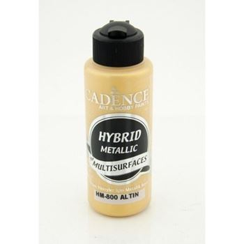 Picture of CADENCE HYBRID ACRYLIC METALLIC PAINT 70ML GOLD
