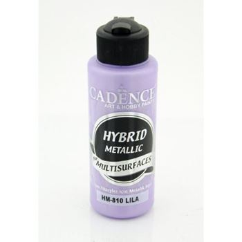 Picture of CADENCE HYBRID ACRYLIC METALLIC PAINT 70ML LILAC